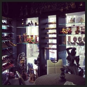 The amazing vintage shop.