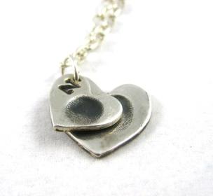Fine Silver Fingerprint Necklace