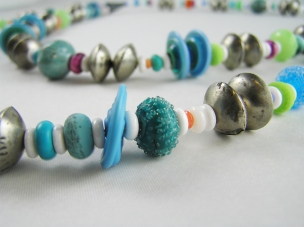 Lampwork and African Trade Beads